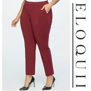 Eloquii | Burgundy Dress Pants